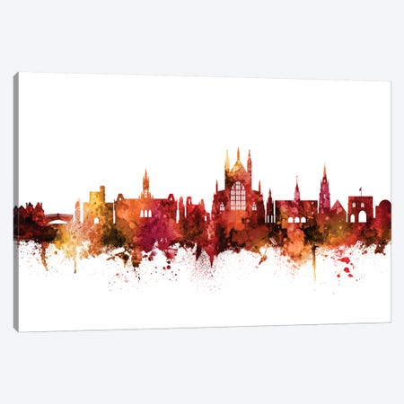 Winchester, England Skyline Canvas Print #MTO1655} by Michael Tompsett Canvas Artwork