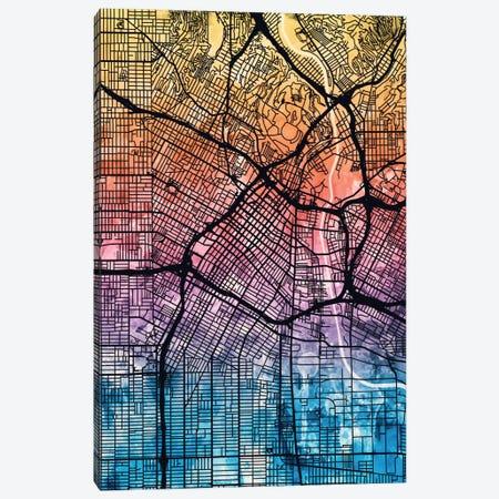 Los Angeles, California, USA Canvas Print #MTO166} by Michael Tompsett Canvas Print