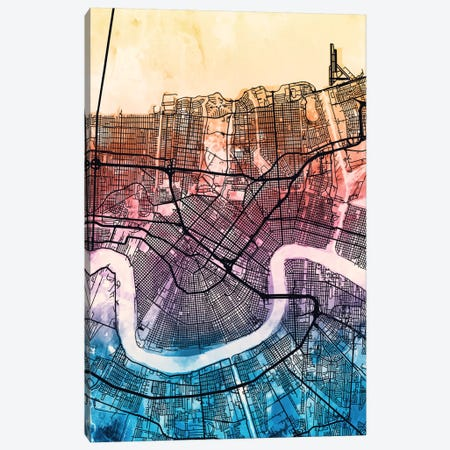 New Orleans, Louisiana, USA Canvas Print #MTO167} by Michael Tompsett Canvas Print