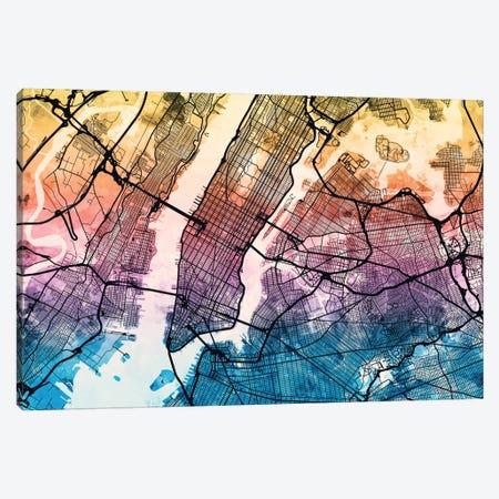 New York City, New York, USA Canvas Print #MTO168} by Michael Tompsett Canvas Art