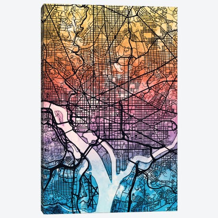 Washington, D.C., USA Canvas Print #MTO171} by Michael Tompsett Canvas Print