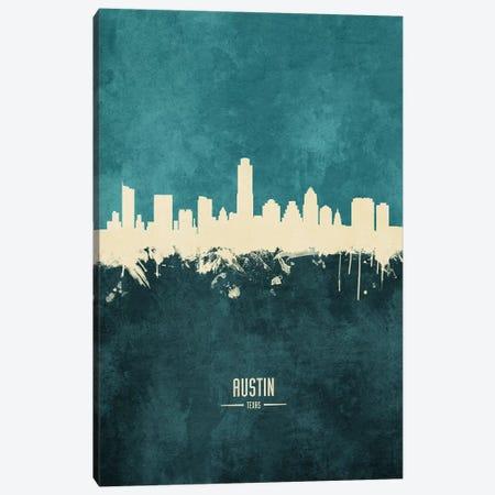 Austin Texas Skyline Canvas Print #MTO1794} by Michael Tompsett Canvas Art Print
