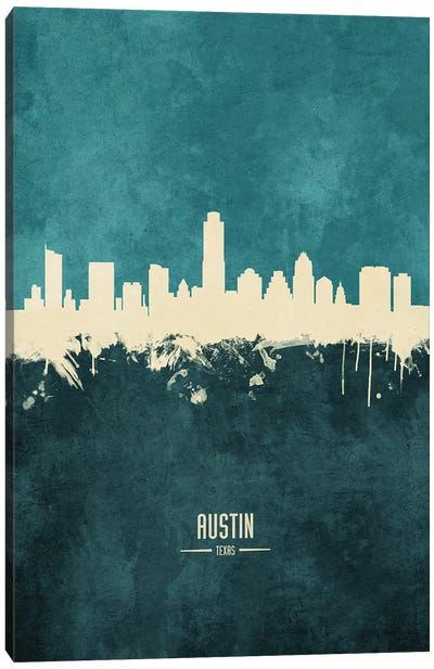 Austin Texas Skyline Canvas Art Print