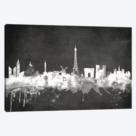 Paris, France Canvas Print #MTO17} by Michael Tompsett Canvas Print