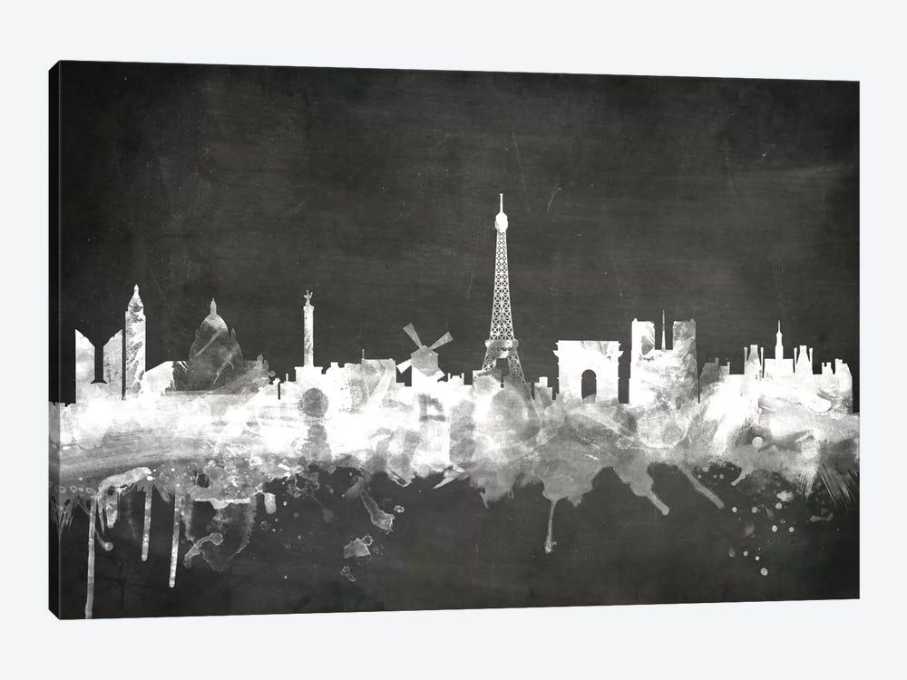 Paris, France by Michael Tompsett 1-piece Canvas Print