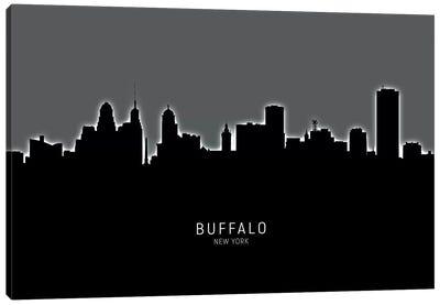 Buffalo New York Skyline Canvas Art Print