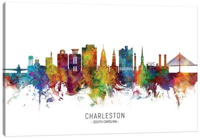 Charleston South Carolina Skyline Canvas Art Print
