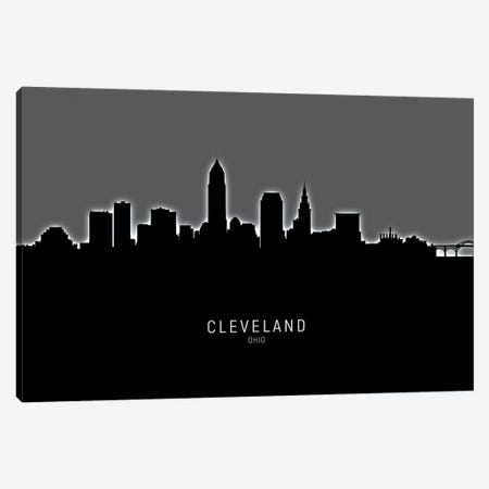 Cleveland Ohio Skyline Canvas Print #MTO1832} by Michael Tompsett Canvas Print