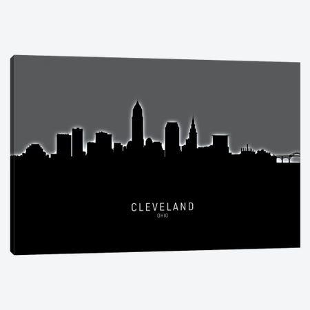 Cleveland Ohio Skyline Canvas Print #MTO1832} by Michael Tompsett Canvas Print