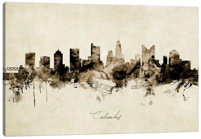 Columbus Ohio Skyline Canvas Art Print