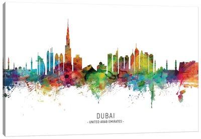 Dubai Skyline Canvas Art Print