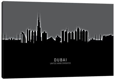 Dubai Skyline Canvas Art Print