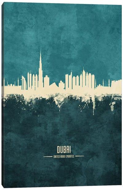 Dubai UAE Skyline Canvas Art Print