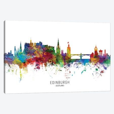 Edinburgh Scotland Skyline Canvas Print #MTO1861} by Michael Tompsett Canvas Artwork