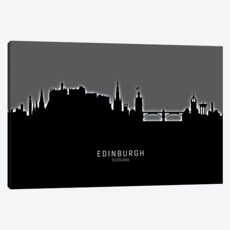 Edinburgh Scotland Skyline Canvas Print #MTO1863} by Michael Tompsett Canvas Artwork