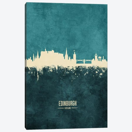 Edinburgh Scotland Skyline Canvas Print #MTO1864} by Michael Tompsett Canvas Art Print