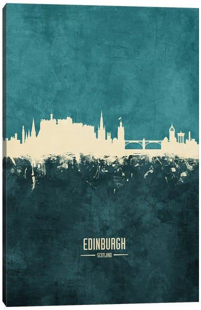 Edinburgh Scotland Skyline Canvas Art Print