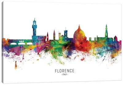 Florence Italy Skyline Canvas Art Print