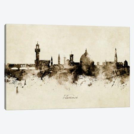 Florence Italy Skyline Canvas Print #MTO1867} by Michael Tompsett Canvas Art Print