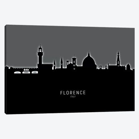 Florence Italy Skyline Canvas Print #MTO1868} by Michael Tompsett Canvas Artwork