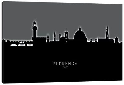 Florence Italy Skyline Canvas Art Print