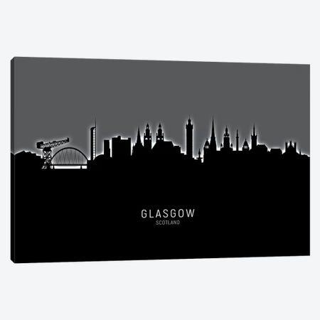 Glasgow Scotland Skyline Canvas Print #MTO1875} by Michael Tompsett Canvas Artwork