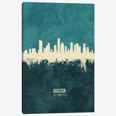 Houston Texas Skyline Canvas Print #MTO1877} by Michael Tompsett Canvas Artwork