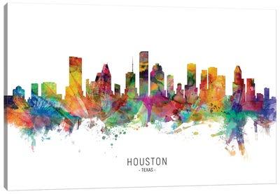 Houston Texas Skyline Canvas Art Print