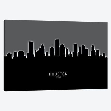Houston Texas Skyline Canvas Print #MTO1880} by Michael Tompsett Canvas Art