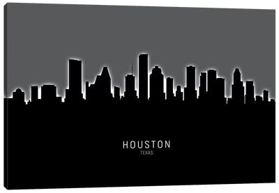 Houston Texas Skyline Canvas Art Print