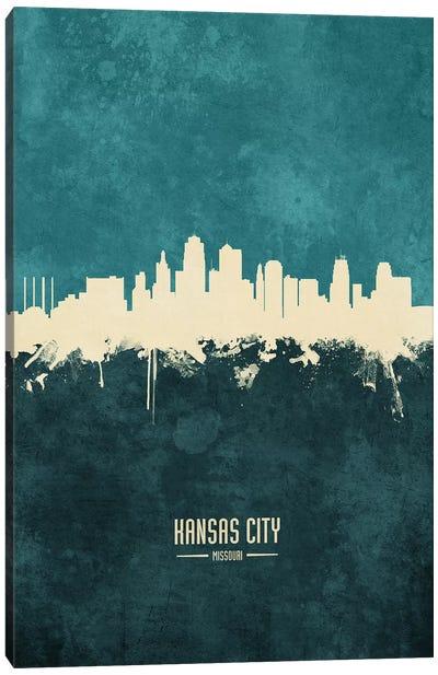 Kansas City Missouri Skyline Canvas Art Print