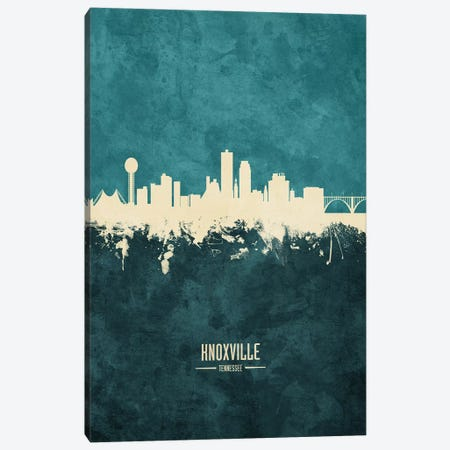 Knoxville Tennessee Skyline Canvas Print #MTO1889} by Michael Tompsett Canvas Artwork