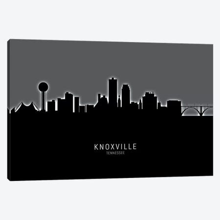 Knoxville Tennessee Skyline Canvas Print #MTO1891} by Michael Tompsett Canvas Art Print