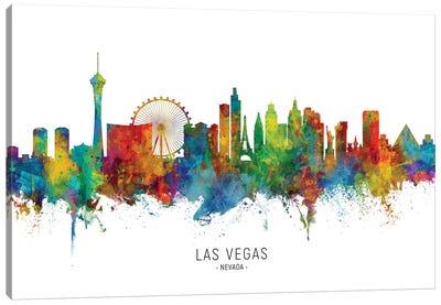 Las Vegas Nevada Skyline Canvas Art Print