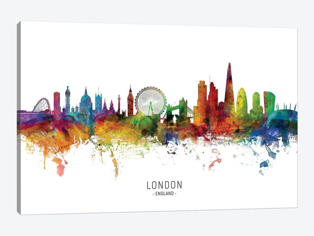 London England Skyline Canvas Art By Michael Tompsett Icanvas