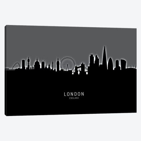 London England Skyline Canvas Print #MTO1898} by Michael Tompsett Canvas Art Print
