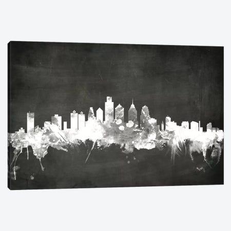Philadelphia, Pennsylvania, USA Canvas Print #MTO18} by Michael Tompsett Canvas Wall Art
