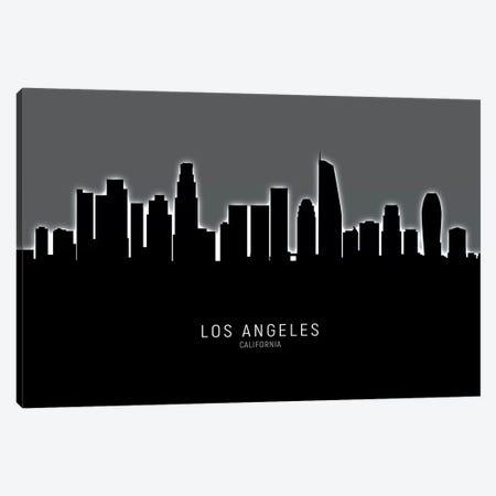 Los Angeles California Skyline Canvas Print #MTO1903} by Michael Tompsett Canvas Print