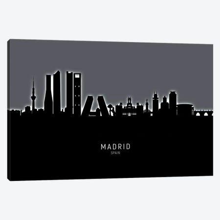 Madrid Spain Skyline Canvas Print #MTO1914} by Michael Tompsett Canvas Print