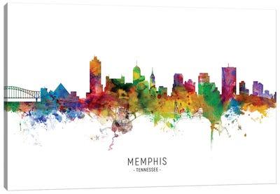 Memphis Tennessee Skyline Canvas Art Print