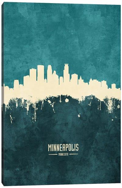 Minneapolis Minnesota Skyline Canvas Art Print