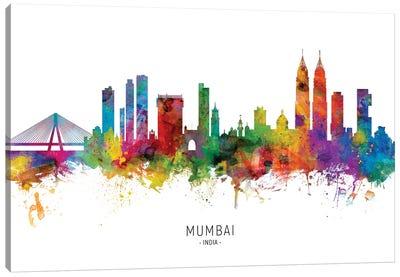 Mumbai Skyline India Bombay Canvas Art Print