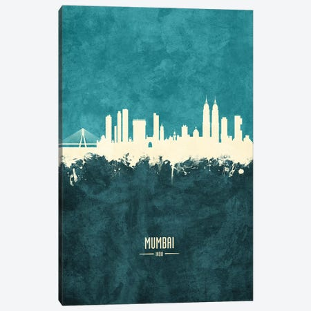 Mumbai Skyline India Bombay Canvas Print #MTO1928} by Michael Tompsett Canvas Print