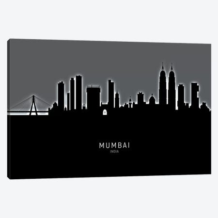 Mumbai Skyline India Bombay 3-Piece Canvas #MTO1930} by Michael Tompsett Canvas Art