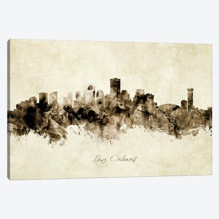 New Orleans Louisiana Skyline Canvas Print #MTO1937} by Michael Tompsett Canvas Print
