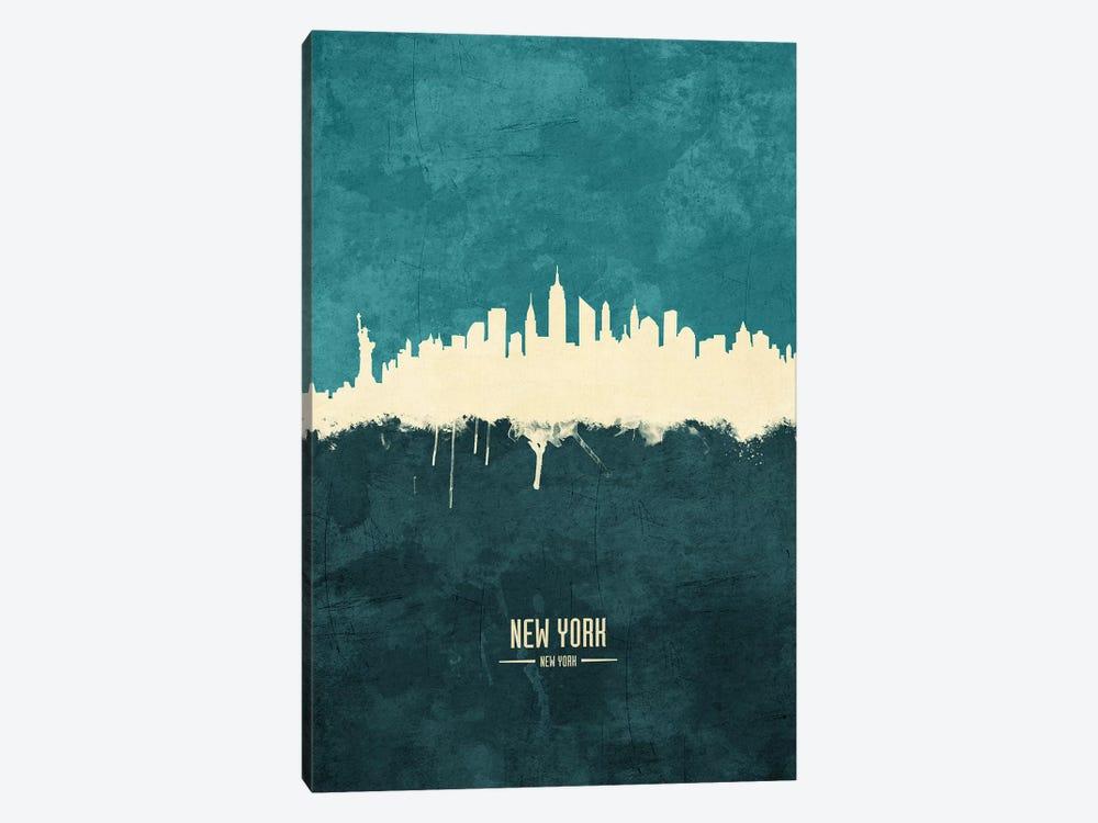 New York City Skyline by Michael Tompsett 1-piece Canvas Art Print