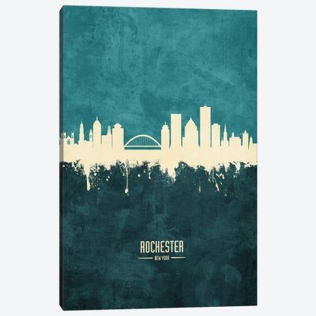 Rochester New York Skyline Canvas Print #MTO1971} by Michael Tompsett Canvas Art