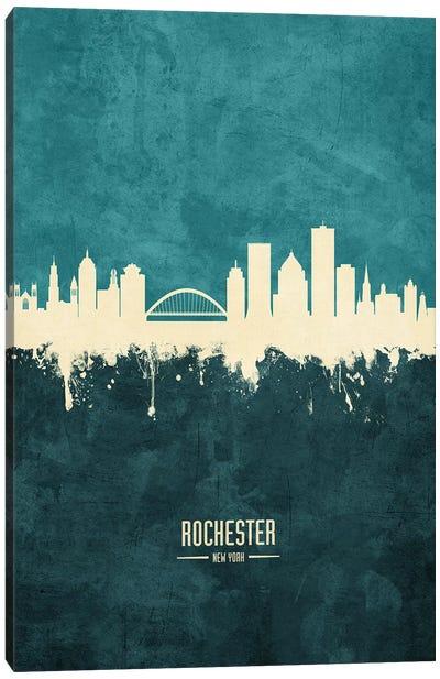 Rochester New York Skyline Canvas Art Print