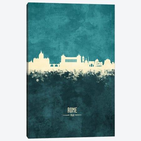 Rome Italy Skyline Canvas Print #MTO1973} by Michael Tompsett Canvas Wall Art