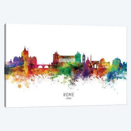 Rome Italy Skyline Canvas Print #MTO1974} by Michael Tompsett Canvas Print